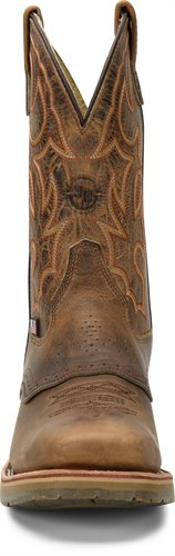 "Double-H Men's DH3567 DWIGHT 11"" Domestic Wide Square Steel Toe I.C.E.™ Roper"