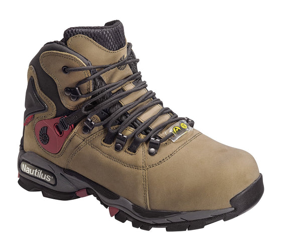 "Nautilus 6"" ESD Waterproof Safety Toe Hiker 1548"