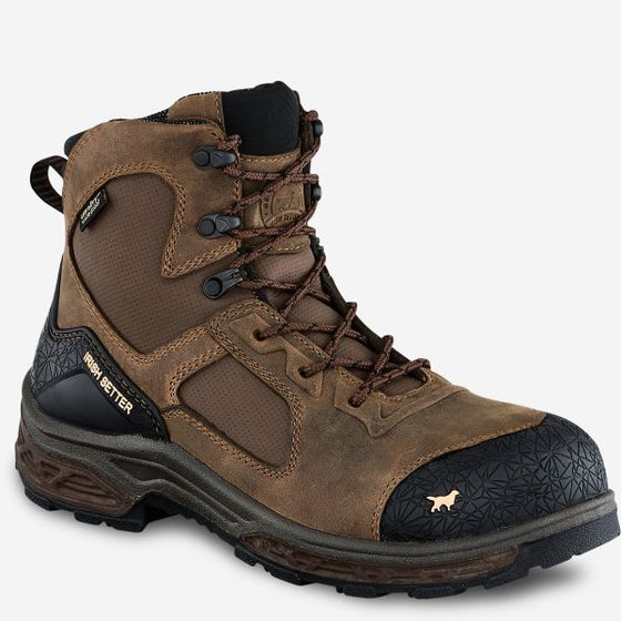 "Men's Kasota 6"" Waterproof Leather Safety Toe Side Zip Boot"