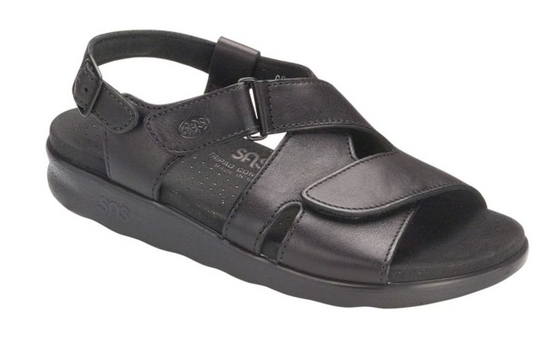 Women's Huggy Cross Strap Sandal