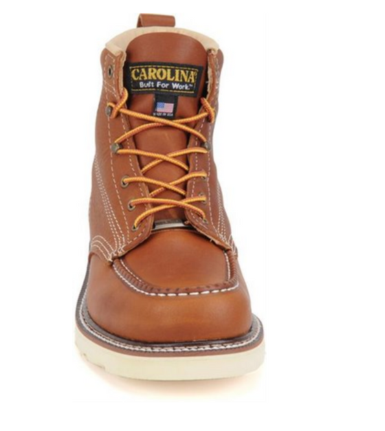"Men's AMP USA  6"" Domestic Moc Toe Wedge Boot"