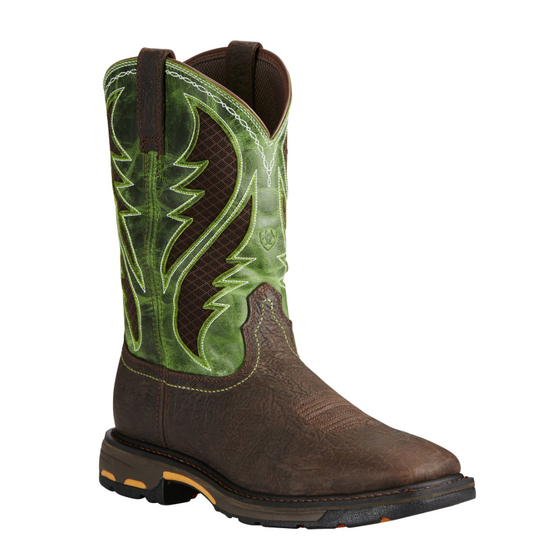 Ariat 0084 WorkHog Wide VentTEK Composite Toe Work Boot