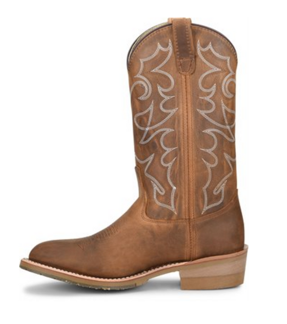 "Double-H Men's DH1552 DYLAN 12"" Domestic I.C.E.™ Work Western"