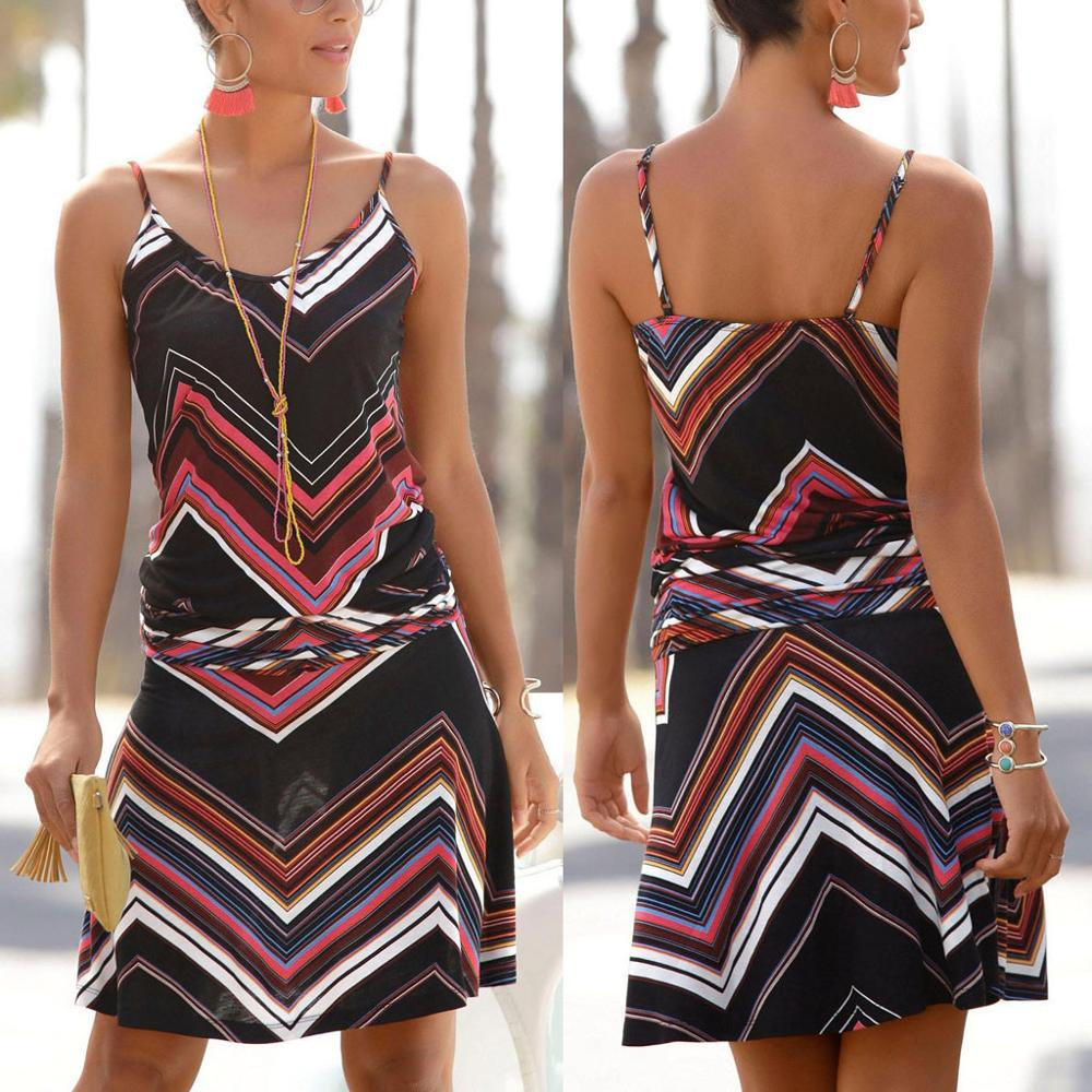 Fashion Casual Women Printed Dress