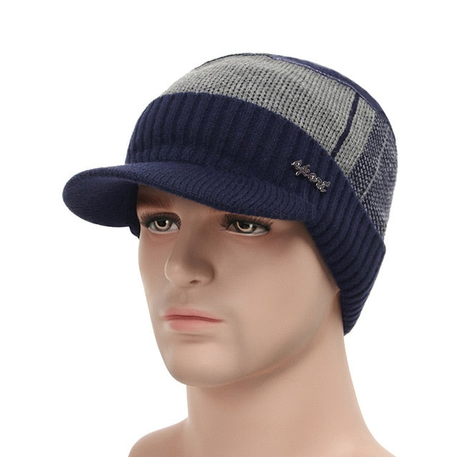 Winter Hats For Men Skullies Beanie