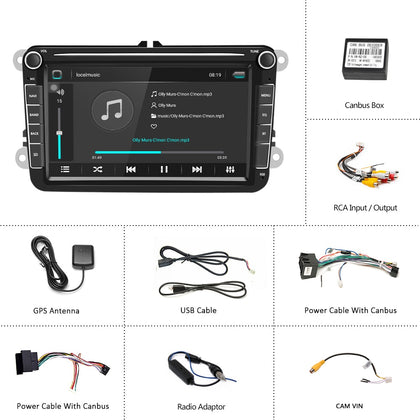 Car MP5 Multimedia Video Player GPS