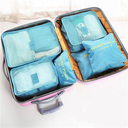 Zipper Bag Portable Packing Waterproof