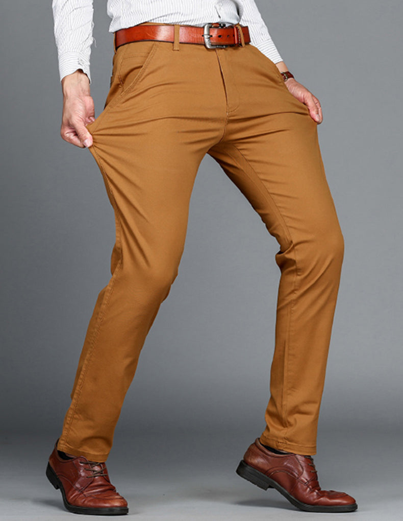 Mens Pants Cotton Casual