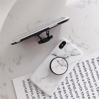 Beyour Marble Flexible Stand Holder Case