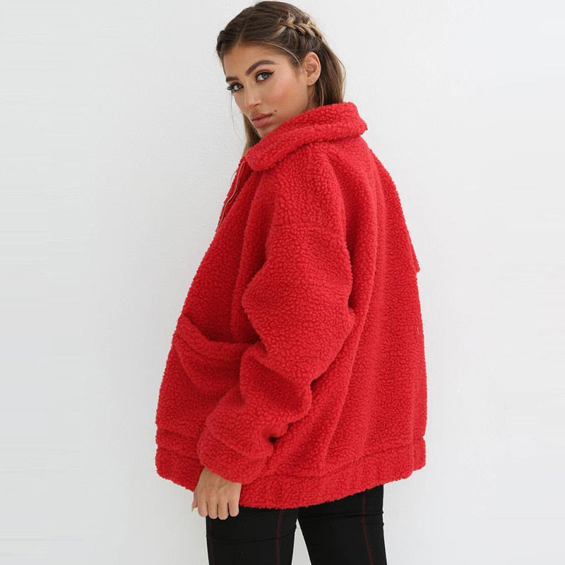 Teddy Coat Women Fluffy