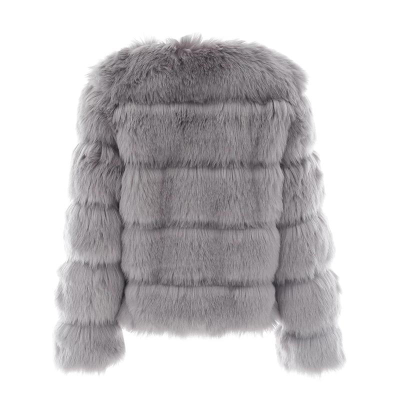 Vintage fluffy faux fur