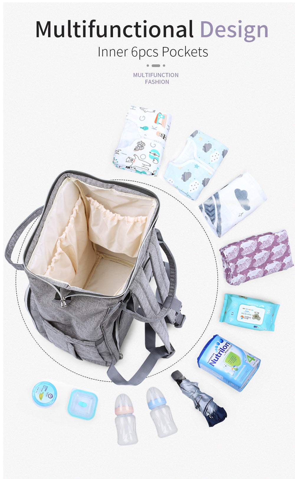 Nappy Backpack Bag Mummy