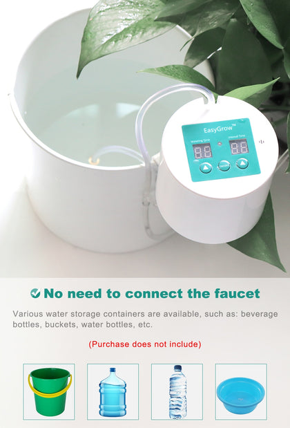 Intelligent garden automatic watering device