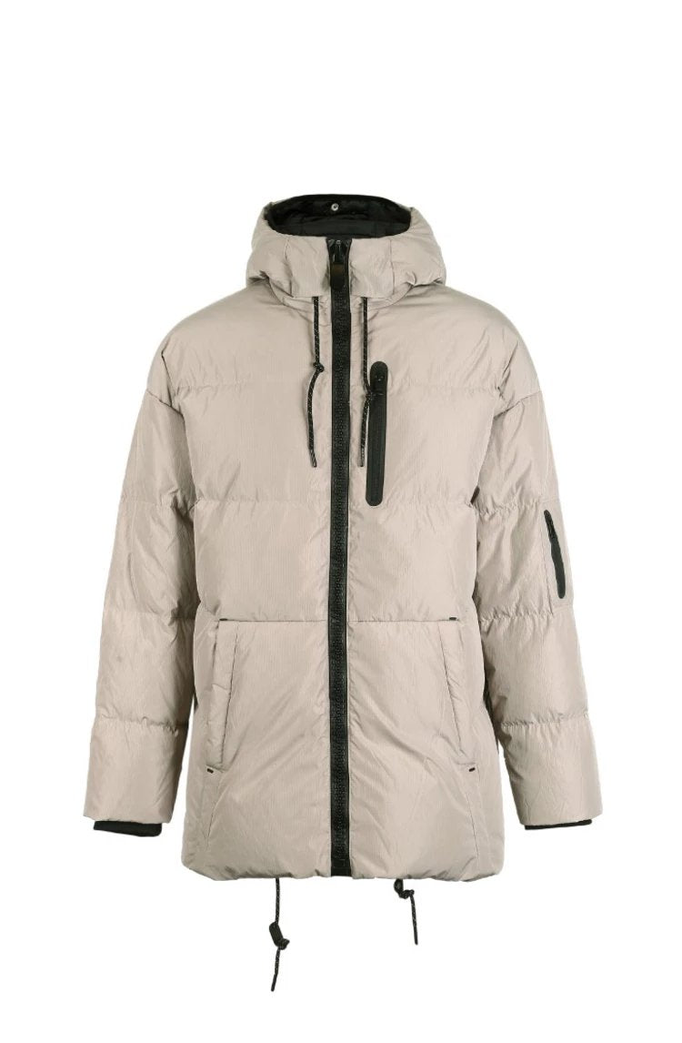 Men's Winter Hooded Duck Down