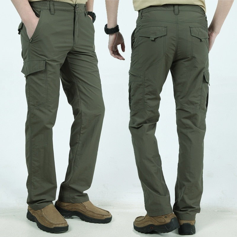 Men Summer Casual Army Style