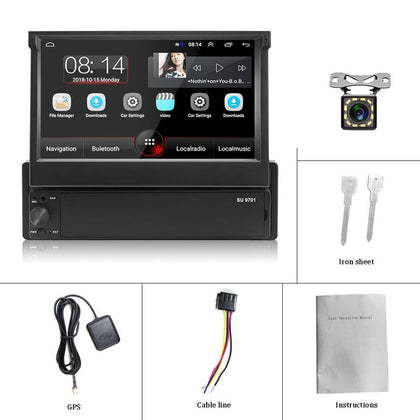 Touch Screen Car Multimedia MP5 Player