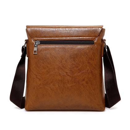 Man Leather  Cross Body Shoulder
