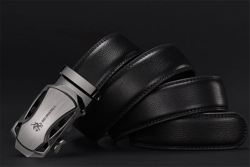 Luxury brand Male Genuine Leather