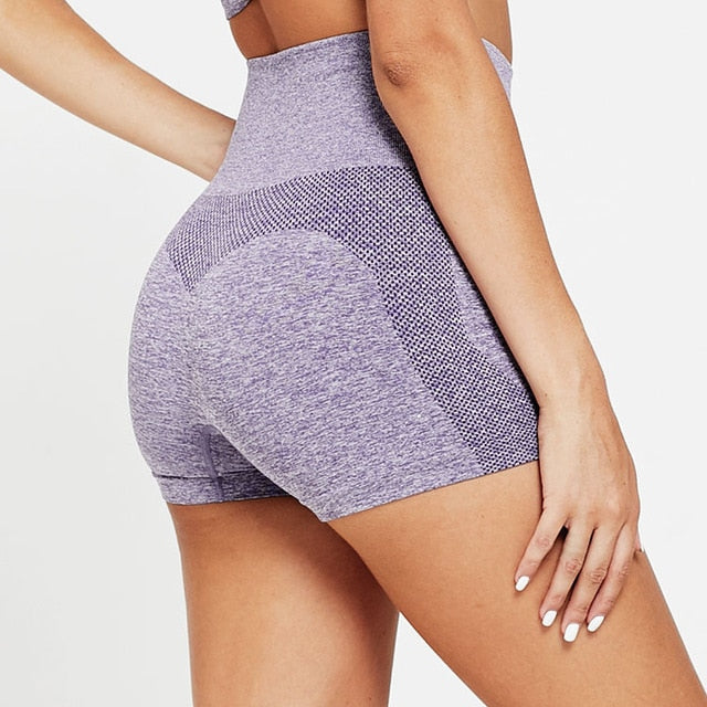 Women Yoga Shorts Sports Running