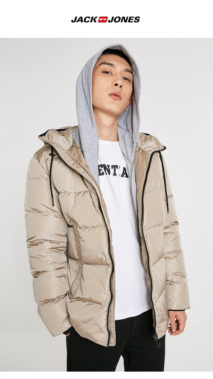 Men's fashion casual hooded