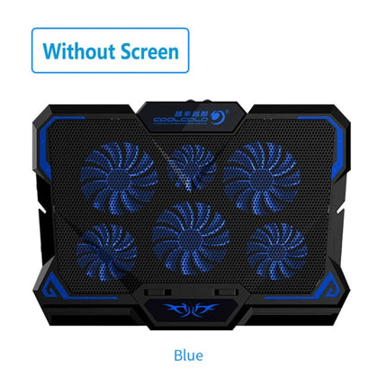 Gaming Laptop Cooler Six Fan Led Screen