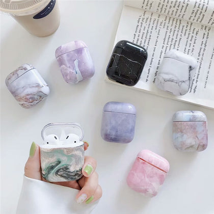 Luxury Marble Case For AirPods