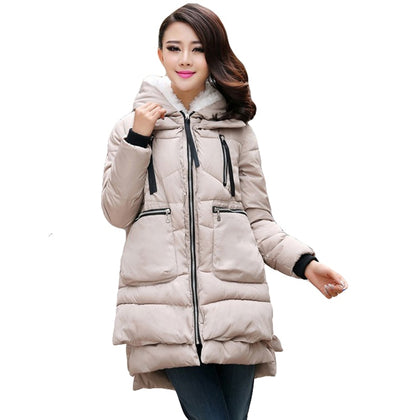 Winter Cotton Coat Women