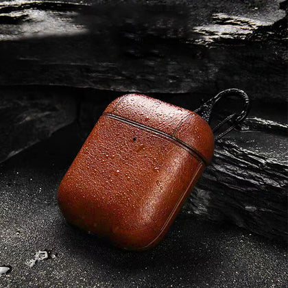 Genuine Leather Case For DrippPods