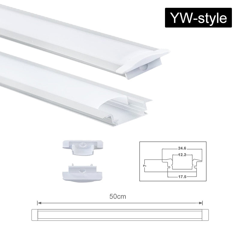 Aluminium Channel Holder for LED Strip Light