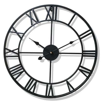Metal Roman Numeral Wall Clocks
