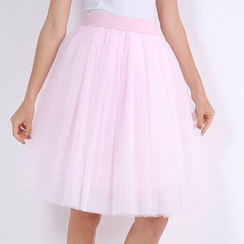 Fashion Women Tulle Skirt Tutu Wedding