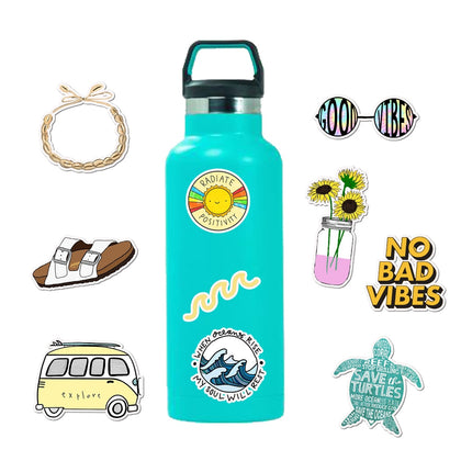 Girl Stickers for Water Bottles