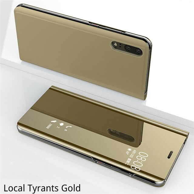 Mirror Flip Case For Huawei