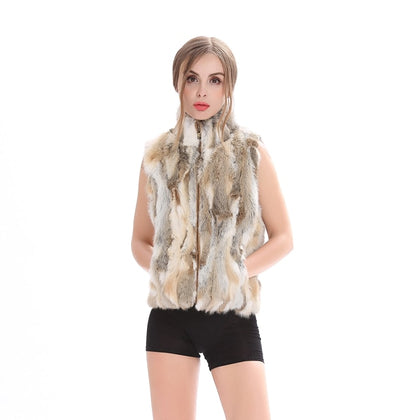 Autumn Lady Genuine Natural Fur