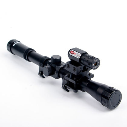Crossbow Riflescope with Red Dot