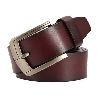 Genuine leather strap luxury pin buckle
