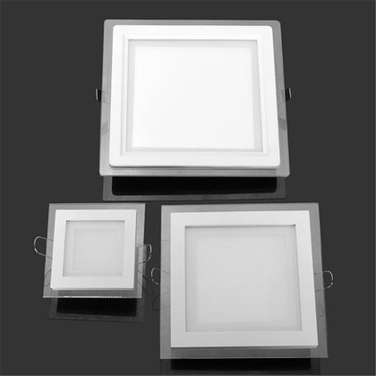 Round/Square Glass LED Downlight