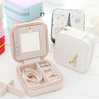 Jewelry Box Travel Comestic Jewelry