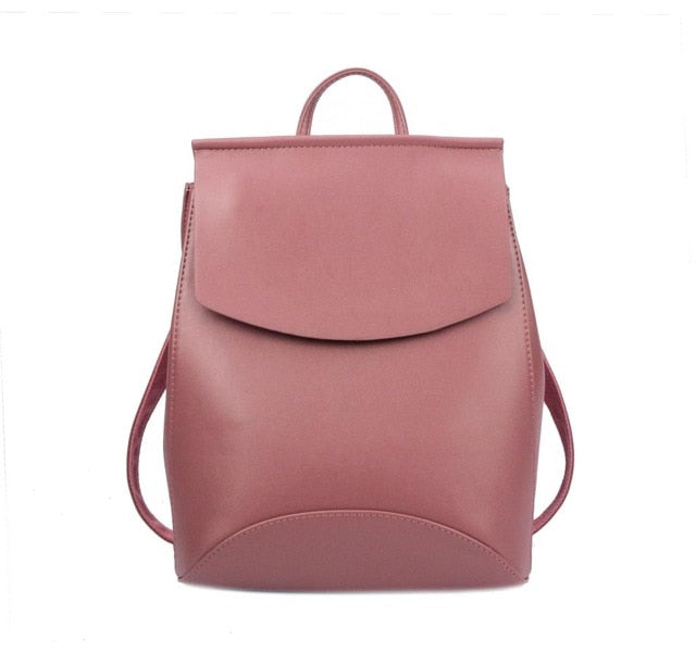 Youth Leather Backpacks for Teenage Girls