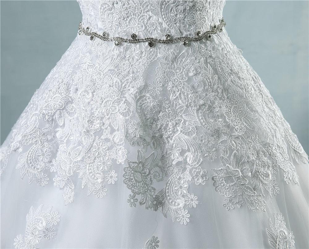 lace flower Sweetheart White Ivory