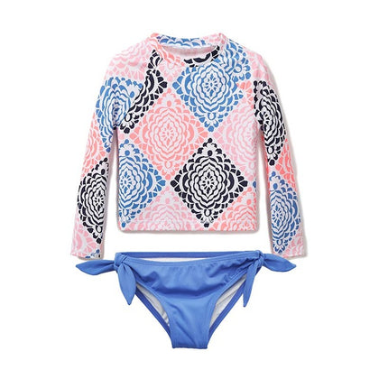 baby Girls Swimwear Long Sleeve