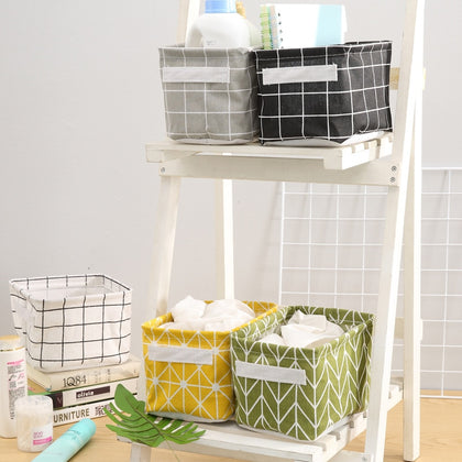 Desktop Storage Box Cute Printing Waterproof
