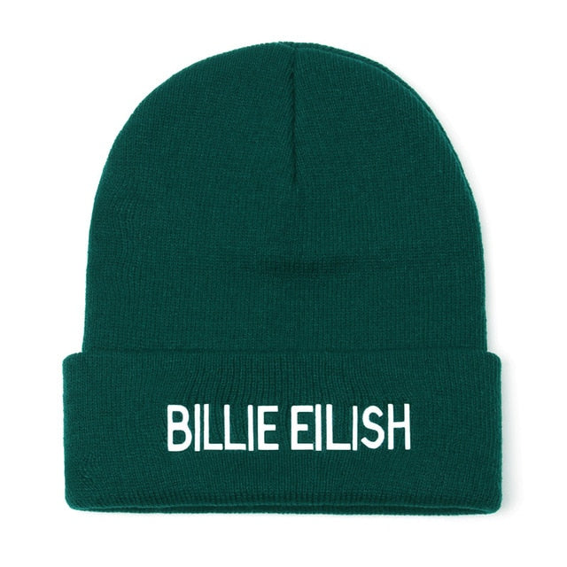 Eilish Beanie Hat  Men Knitted Warm