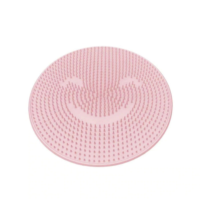Non-slip Silicone Foot Scrubber Shower Mat