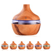 Ultrasonic Wood Grain Oil Diffuser Air Humidifier