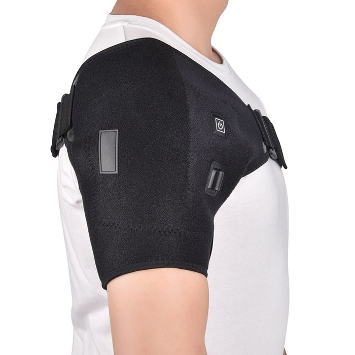 Electric Heat Therapy Shoulder Support Brace