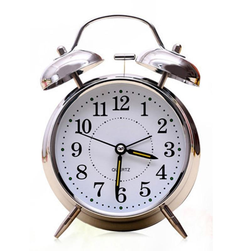 Alarm Clocks And Watches - Double Bell Alarm Clock With Night Light