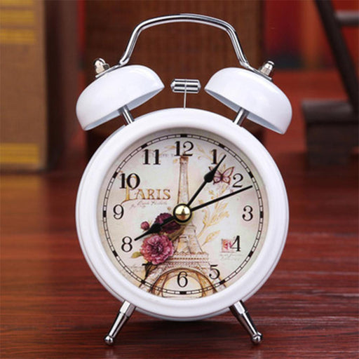 Alarm Clocks And Watches - Twin Bell Desk Alarm Clock