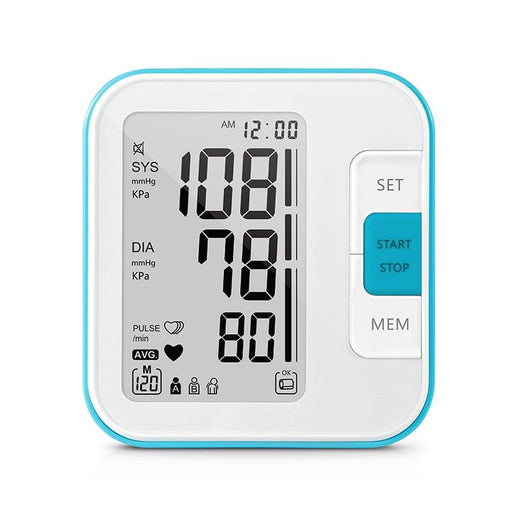 Blood Pressure Monitors - 2 Cuff Band  LCD Digital Upper Arm Blood Pressure Monitor