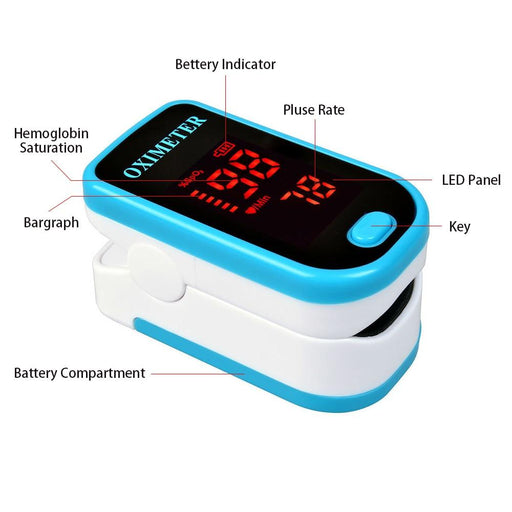 Blood Pressure Monitors - Finger Pulse Oximeter
